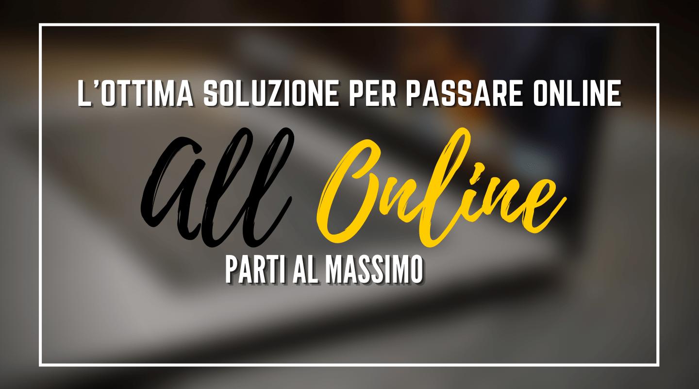 Scegli il sito all online e crea la tua presenza online