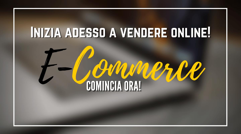crea il tuo sito e-commerce e inizia a vendere